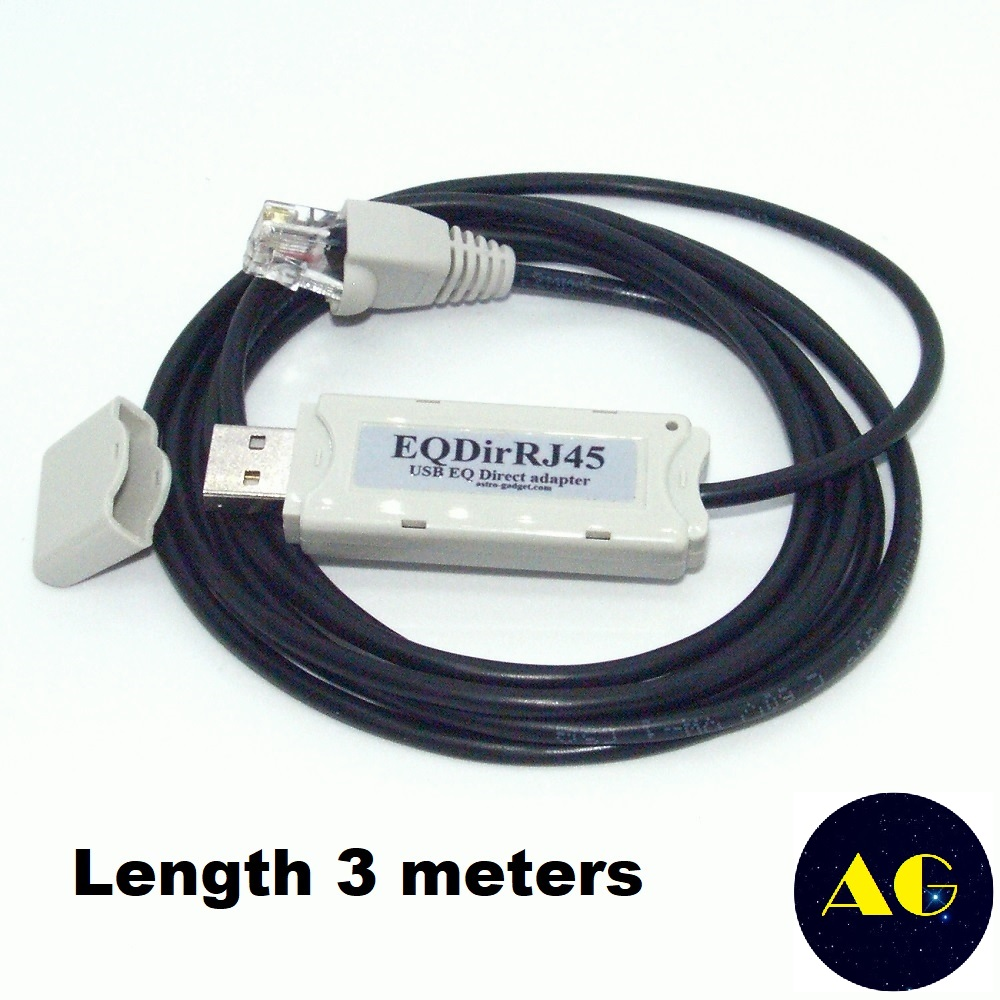 USB to RJ11 Cable for Skywatcher EQ6 EQ5 HEQ5 EQMOD ASCOM PC to Connect The Synscan Hand Controller Upgrade 6ft//180cm, USB to rj11//6p4c